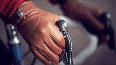 Leather Town Gloves for city cyclists