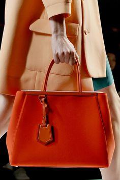 Fendi Spring 2013 #ss13 #mfw #handbags