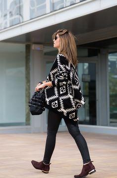 Ms Treinta - Fashion blogger - Blog de moda y tendencias by Alba.: Ethnic Cardigan