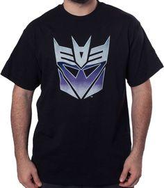 Big Decepticon Logo T-Shirt - Transformers T-Shirt