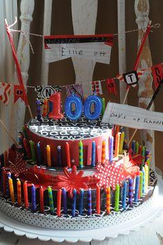 100-days-of-school-craft-fake-cake