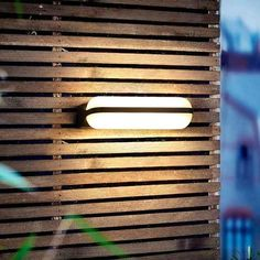Modern Deck Lighting, Balcony Lighting, Fence Lighting, Outdoor Lighting, Lighting Ideas, Modern Balcony, Small Balcony Design, Small Balcony Decor, Outdoor Wall Sconce