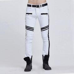 Homme Camouflage couture coton Slim Pantalon Casual  Marée pieds pantalons