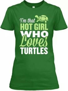 I love turtles! Red Eared Slider, Turtle Time, Cute Turtles, Sea Turtles, Tortoise Turtle, Tortoises, Tmnt, Pink And Green, Cute Outfits