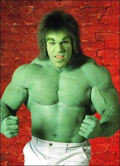 """Lou Ferrigno - The Incredible Hulk Frm bd: """"Memories of Good TV Viewing..."""""""