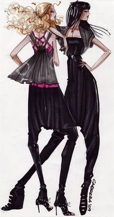 Alfredo Cabrera, Fashion Illustration