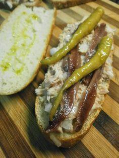 Spanish Kitchen, Spanish Cuisine, Spanish Tapas, Sardine Recipes Canned, Canapes, Costa, Food Preparation, Bacon, Brunch