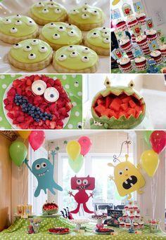 Pettingill Crew: {Rylan's 5th Birthday: Monster Party}