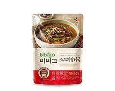 CJ Bibigo Korean beef market soup Korean Beef Soup