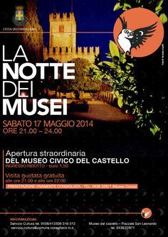 Apertura straordinaria del museo civico del castello di Conegliano #ndm14 #ndm14italia #treviso