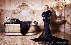 celebrity portrait, private glamour fashion portrait, nancy fina photographer, fotografa moda e pubblicità , ritratti, location, post production, producer, editorial , Alberta Ferretti e shupei top model