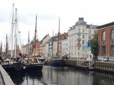 Canals at Copenhagen, Denmark