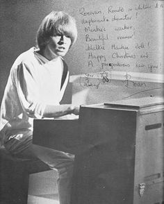Brian Jones - 1965 Christmas greeting