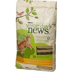 Purina Yesterday's News Paper-Based Pellet Cat Litter