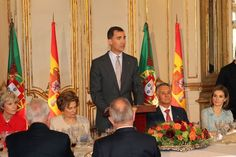 King Felipe and Queen Letizia are currently in Portugal for a one day official visit.