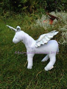 Echo the Baby Horned Pegasus. £22.00, via Etsy.