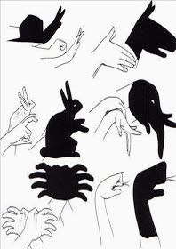 Shadow Art, Shadow Play, Shadow Tattoo, Shadow Puppets With Hands, Activities For Kids, Crafts For Kids, Hand Shadows, Finger Art, Magic Hands