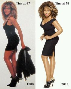 Ageless And Sexy Pix: Tina Turner @ 75 Got It All! Black Girls Rock, Black Girl Magic, My Black Is Beautiful, Beautiful People, Musa Fitness, Vintage Black Glamour, Lady, Ageless Beauty, Up Girl