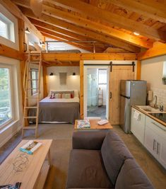 My name is Chris Daniele (aka and I'm going to be taking over Tiny House Movement for the next couple… Tiny Houses For Rent, Tiny House Loft, Modern Tiny House, Tiny House Design, Tiny House On Wheels, Small House Plans, Tiny Cabin Plans, Best Tiny House, Tiny House From Shed