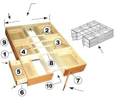 Ultimate Bed Platform Beds with Drawers. Get rid of the dressers, use a box spring mattress or cover top of drawers with plywood, etc. Use up the empty space under the bed.