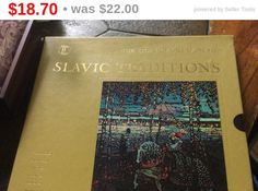 Holiday Sale The Story of Great Music Slavic Traditions boxed set Lps