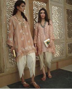 Pakistani ensembles by Misha Lakhani. Pakistani Couture, Indian Couture, Pakistani Outfits, Indian Outfits, Indian Fashion Trends, Ethnic Fashion, Asian Fashion, Latest Fashion, Gypsy Fashion