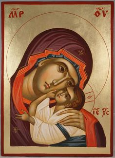 The Virgin Eleusa (Theotokos Eleusa, Sweet Kissing) About our icons BlessedMart offers hand-painted religious icons that follow the Russian, Greek, Byzantine and Roman Catholic traditions. We partner with some of the most experienced iconographers in the country. Artists with more than 20 years of experience in modern iconography. Each and every icon that we sell in our online