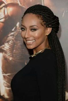 We love Keri in boxbraids. Have you tried wearing your hair in this style yet?