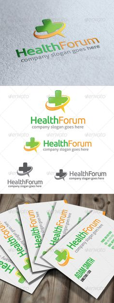 Health Forum Logo #GraphicRiver Health Forum Logo is suited for website forum about health or medical, or any other that related to health talk, medical chat, healthy lifestyle, etc. All in the package : - Ai, EPS, PSD files - CMYK color mode - 100% vector file fully editable - Easy to edit text/fonts Free fonts we use: font.ubuntu / .fontsquirrel /fonts/Aller Please rate if you buy..! And feels free to message me if you need to edit this item. Thank you.. Created: 29May13…
