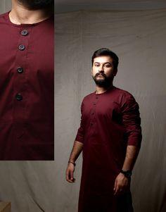 #CulturalShock #Menswear #longkurta Kurta Pajama Punjabi, Kurta Pajama Men, Kurta Men, Gents Shirts, Groom Shirts, Indian Men Fashion, Mens Fashion Wear, Men's Fashion, Mens Shalwar Kameez