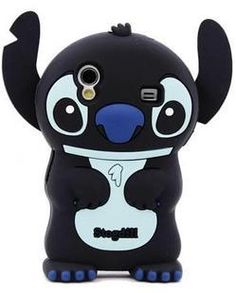 Cute Stogdill 3D Cartoon Stereoscopic Stitch Samsung Case Skin Cover for Samsung Galaxy Ace S5830 - Samsung Galaxy Ace S5830 Cases - Samsung Cases