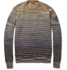 Missoni Striped Knitted Wool-Blend Sweater | MR PORTER