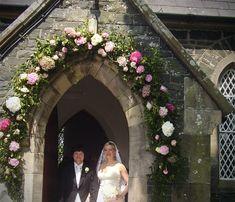wedding flowers-floral arch by www.macsflowers.com miltown malbay ...