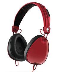 SKULLCANDY AVIATOR HEADPHONES - RED BLACK WAYFARER on http://www.surfstitch.com