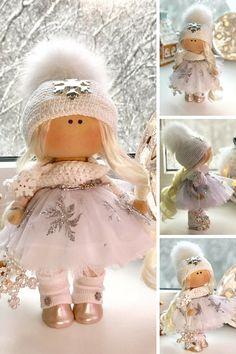 Nursery Doll Bambole Doll Fabric Doll Textile Doll Rag Doll Puppen Muñecas Pink Doll Bonita Handmade Doll Interior Doll Tilda Doll Anastasia __________________________________________________________________________________________   Hello, dear visitors!  This is handmade textile