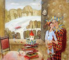 Алла Чакир. The dream of a winter man