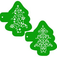 This set of two stencils makes it easy to create beautiful and ornate holiday tree cookies. Description from coppergifts.com. I searched for this on bing.com/images
