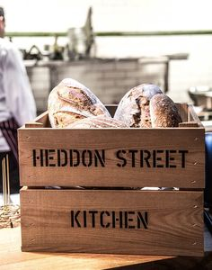 Branded Crates for food retail, restaurants and catering
