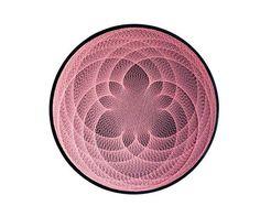 LOTOS cadena arte geometría sagrada meditación pared arte decoración de casa decoración de la pared arte 3D Mandala Zen regalo espiritual nueva era yoga estudio de diseño
