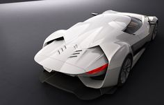 Citroen GT Concept de 2008 by Takumi Yamamoto. 790 CV