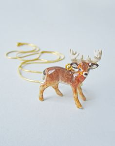 All Creatures Great & Small - Buck Necklace
