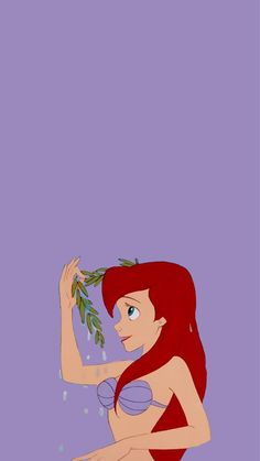 Cute Disney wallpaper with little mermaid