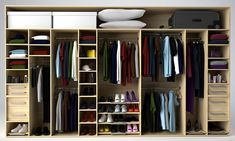 See for wardrobe layout