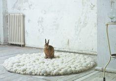#pompom #rug MYK-Carpet-cream-image.jpg