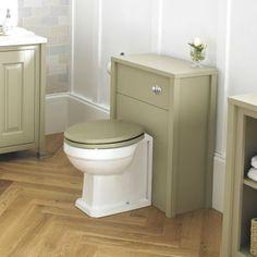 Pistachio toilet set.