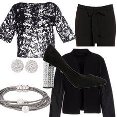 Cosa c è di più bello del nero e dei brillanti in un outfit che 099a652ef70