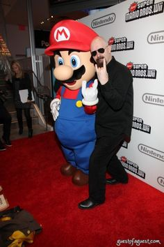 Rob Halford & Mario Bros