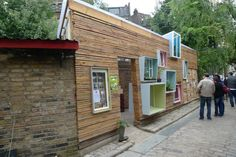 Windows don't have to look so boring from outside, do they?  Sill-to-Sill at Hackney City Farm