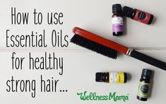 Using essential oils for hair is a great way to improve hair over time. Try Lavender, Peppermint, Rosemary, Cedarwood & others for great hair!