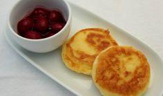 Rezept Quarkpuffer mit Kirschen